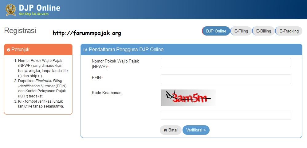 DJP Online: Apa dan Bagaimana | Forum Pajak Indonesia